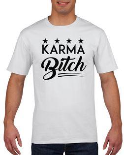 Koszulka męska KARMA BITCH XXL