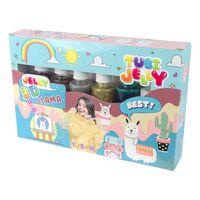 Zestaw Tubi Jelly 6 Kolorów - Lama