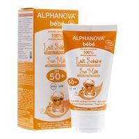 Alphanova Bebe Przeciwsłoneczny Krem o wysokim filtrze SPF 50+ - 50 ml