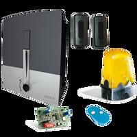 Napęd do bramy przesuwnej CAME BXL 4 ECO 10m/400kg 24V zestaw z lampą i fotokomórkami