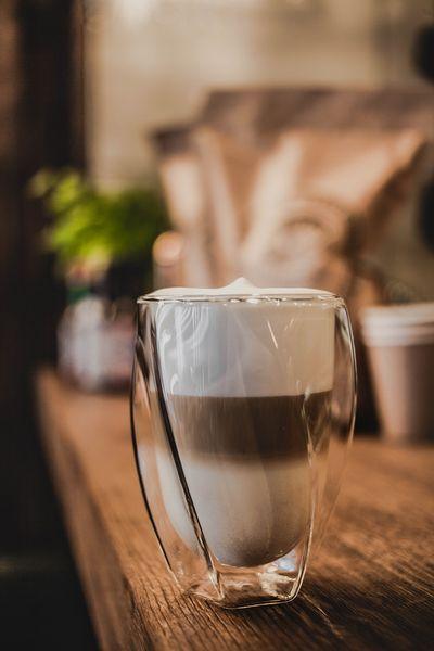 Szklanki Termiczne z Podwójną Ścianką do Kawy Latte Herbaty 300ml 6szt zdjęcie 6
