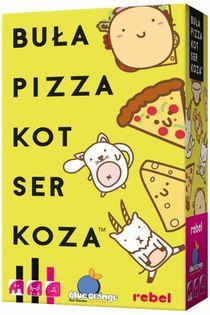 REBEL Gra Bula, Pizza, Kot, Ser, Koza