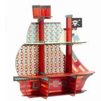 DJECO Półka 3D Statek Piratów