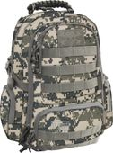 Dwukomorowy plecak szkolny St.Right 30 L, Military Moro BP36 zdjęcie 1
