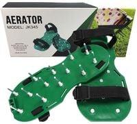 Aerator trawnikowy sandałowy. Aeracja trawy O8