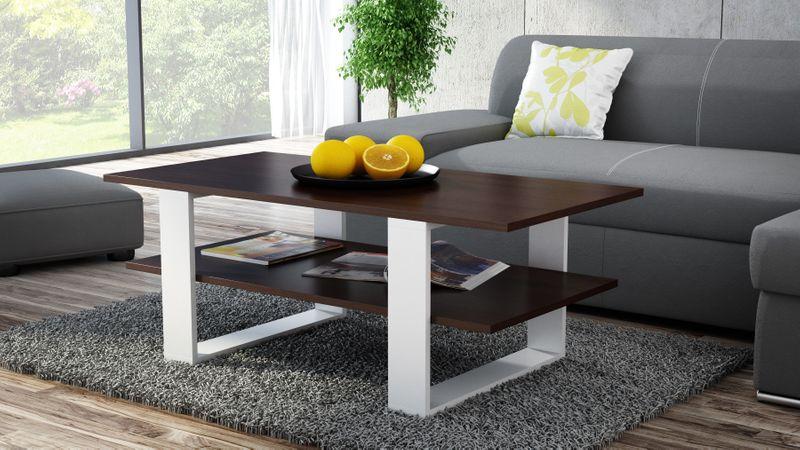 ława stolik kawowy salon 120x55x60 wenge mix zdjęcie 2