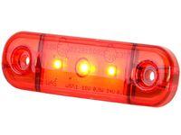 Lampa LED obrysowa tylna czerwona 3 SMD 12v 24v Polska