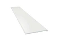 Listwa okienna PCV 30x2,5mm biała bez pianki i uszczelki L=3mb 10szt