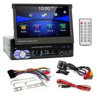 "Radio Samochodowe 1 DIN, ekran 7"" kamera cofania Bluetooth USB SD"