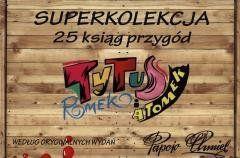 Tytus, Romek i A'Tomek kolekcja 25 ksiąg przygód Henryk Jerzy Chmielewski