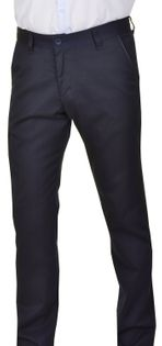 "Eleganckie granatowe spodnie chinosy Vankel-026,  roz. pas 94cm /L32"""