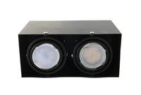Lampa natynkowa biała 2xGU10 BLOCCO Milagro Kolor produkty - Czarny