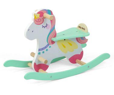 Koń na biegunach Milly Mally Lucky 18 Unicorn 3333