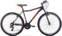 """Rower Romet Rambler 26 JR M (17"""") czarno-pomarańczowy"""