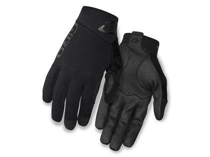 Rękawiczki męskie GIRO RIVET II długi palec black roz. XXL (obwód dłoni od 267 mm / dł. dłoni od 211 mm) (DWZ)