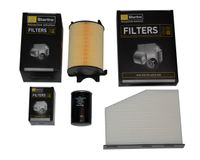 Zestaw filtrów Audi A3 / A3 Sportback 1.6 8P 102KM