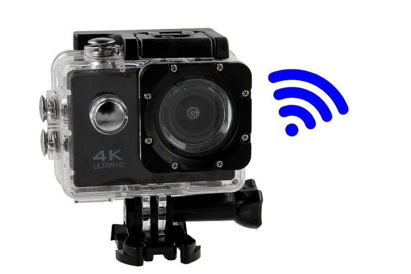 Kamera sportowa 4K Ultra HD wi-fi wodoszczelna do 30 metrów T273 zdjęcie 10