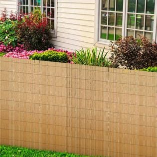Panele ogrodzeniowe z trzciny 2 szt. 150x500cm VidaXL