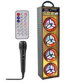 Kolumna Głośnik przenośny 20W Bluetooth Karaoke + Mikrofon G31Z