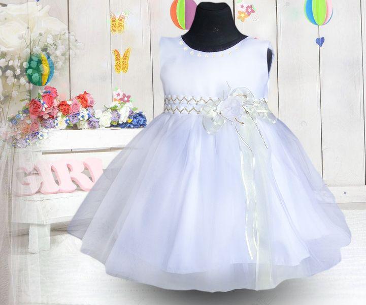 6bddd845 PL Laura Sukienka dla dziewczynki tiul szyfon perły sesja 122/128