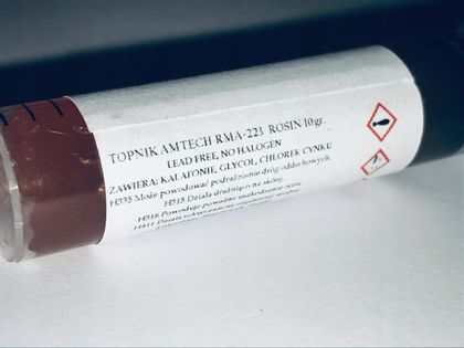 Flux topnik pasta SMD BGA AMTECH RMA-223 ROSIN 10g