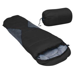 Lumarko Lekki śpiwór dziecięcy typu mumia, czarny, 670 g, 10°C!