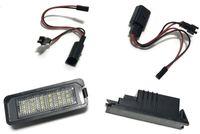 LAMPKI LED REJESTRACJI VW GOLF 5 6 POLO PASSAT CC