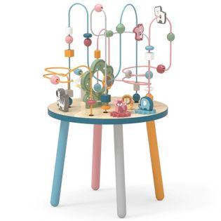 Drewniany Stolik Edukacyjny Manipulacyjny Przeplatanka Viga Toys