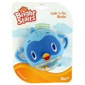 Bright Starts maskotka grzechotka ptaszek Niebieski