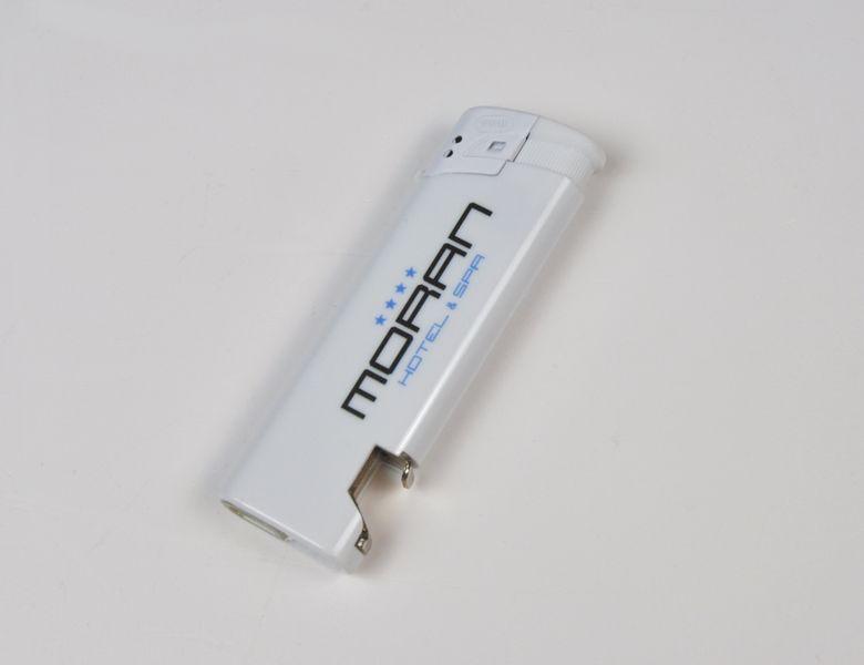 zapalniczka z otwieraczem reklamowa firmowa z nadrukiem UV 100 szt zdjęcie 4