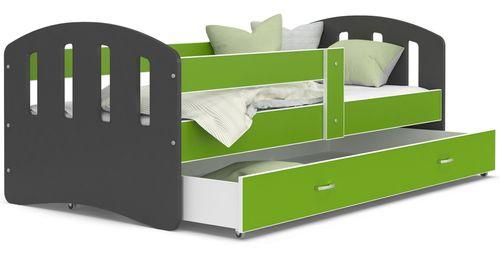 Łóżko HAPPY 160x80  szuflada + materac na Arena.pl
