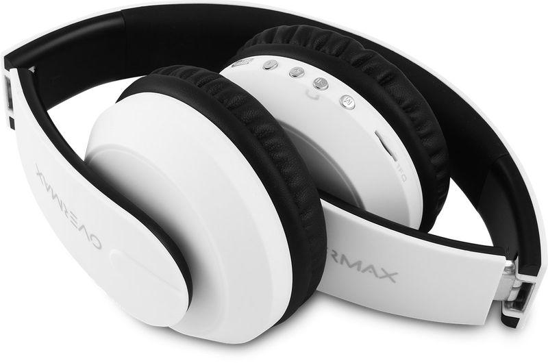 Słuchawki Bezprzewodowe Białe MP3 BT OVERMAX SOUNDBOOST 2.2 zdjęcie 5