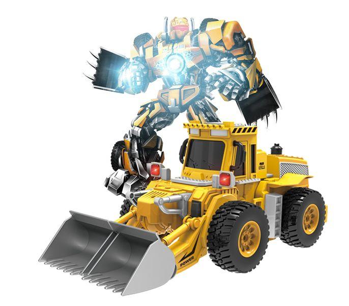 KOPARKA ROBOT TRANSFORMER TAŃCZY ŚPIEWA PO POLSKU Y79 zdjęcie 2