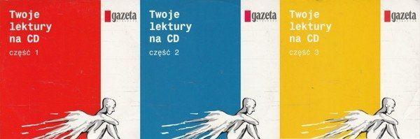 Twoje lektury na CD Część 1-3 [3CD] Audiobook