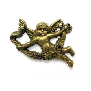 Ornament 45268.055D prawy z mosiądzu Materiał - Mosiądz