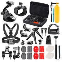 zestaw 38 akcesoriów do kamer sportowych GOPRO HERO 8 7 6