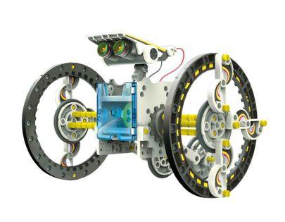 Edukacyjny Zestaw Solarny Robot 13w1 - Pies, Łódka