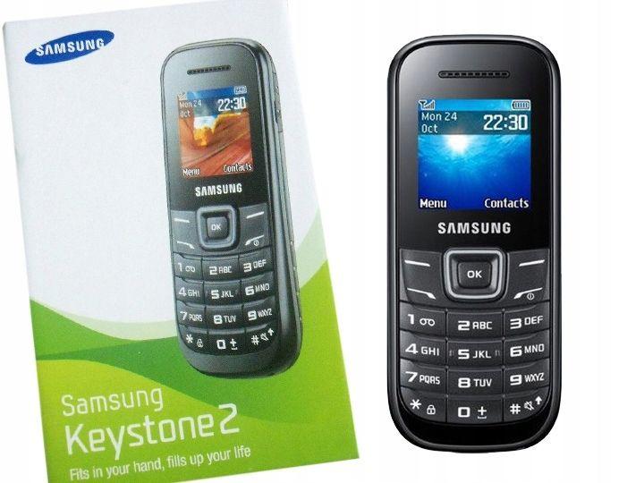 TELEFON KOMÓRKOWY SAMSUNG E1200 KEYSTONE 2 CZARNY PL BEZ SIMLOCKA zdjęcie 1