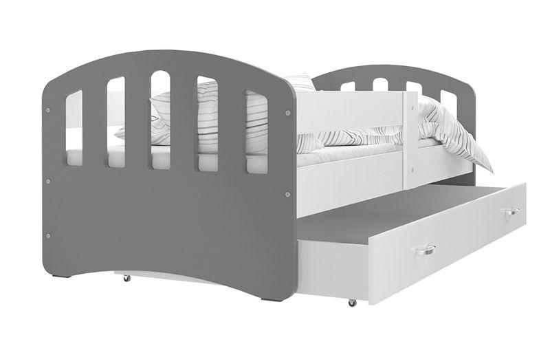 Łóżko HAPPY 140x80 szuflada + materac zdjęcie 2