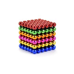 Neocube klocki magnetyczne kulki tęcza mix 5mm Box