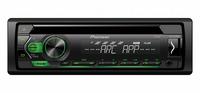 Radio samochodowe PIONEER DEH-S120 UBG CD+USB+Android zielone