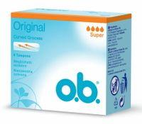 Tampony higieniczne O.B. Original Super - 8 sztuk