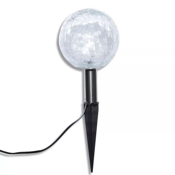 Lampy ogrodowe LED (3szt) z panelem solarnym zdjęcie 5