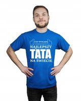 Koszulka męska TAK WYGLĄDA NAJLEPSZY TATA L