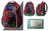 Plecak 26L Coolpack Spark L LED ©Marvel AVENGERS + Powerbank