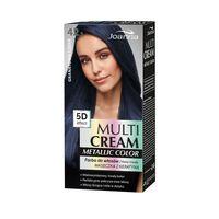 Joanna Multi Cream Metallic Color Farba Do Włosów 42.5 Granatowa Czerń
