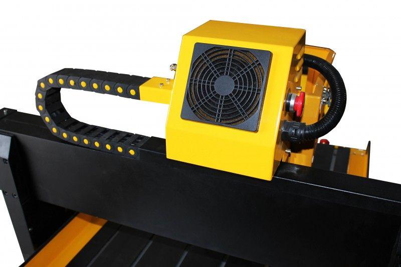 FREZARKA PLOTER CNC 6090 GRAWERKA 3kW z170mm MACH3 zdjęcie 11