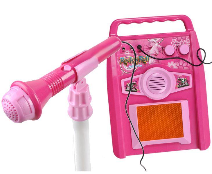 GITARA Elektryczna dla dzieci z wzmacniaczem + Mikrofon Z337R na Arena.pl