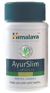 AyurSlim odchudzanie kontrola wagi Himalaya 60kaps
