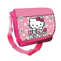 Torba na ramię listonoszka Hello Kitty Licencja Sanrio (AS6587 Różowa)